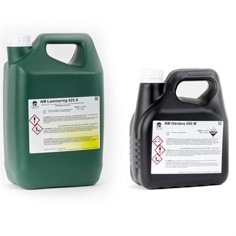 tvakomponent epixiplast till laminering och lackering. genomskinlig laminering till batar och bilar.