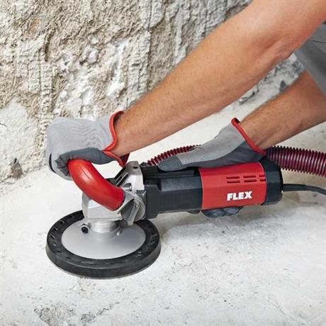 betongslipmaskin för golv