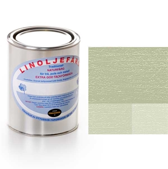 Linoljefärg i gröna kulörer till målning både inom- och utomhus ... a0aaba02bb4bd